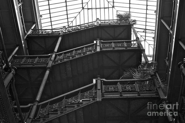 New Photographic Art Print For Sale Bradbury Building 2 Downtown La Poster