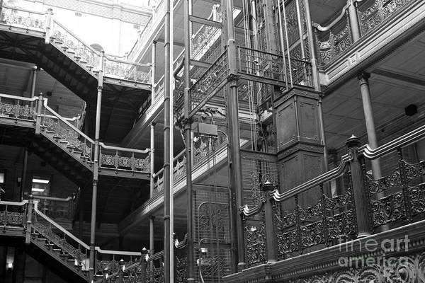 New Photographic Art Print For Sale Bradbury Building 7 Downtown La Poster