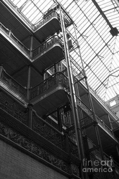 New Photographic Art Print For Sale Bradbury Building 9 Downtown La Poster