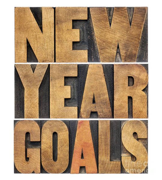 New Year Goals Poster