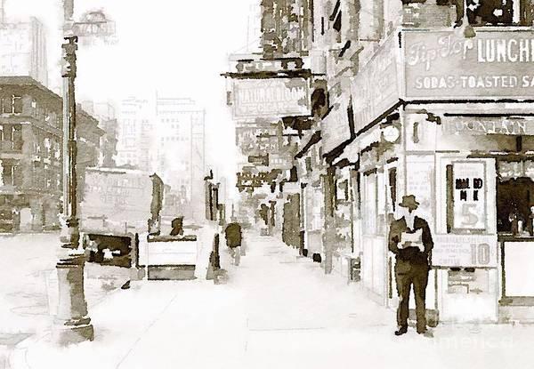 New York 1940 Poster