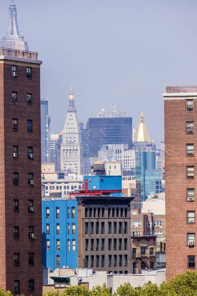 New York City From Brooklyn Bridge Poster