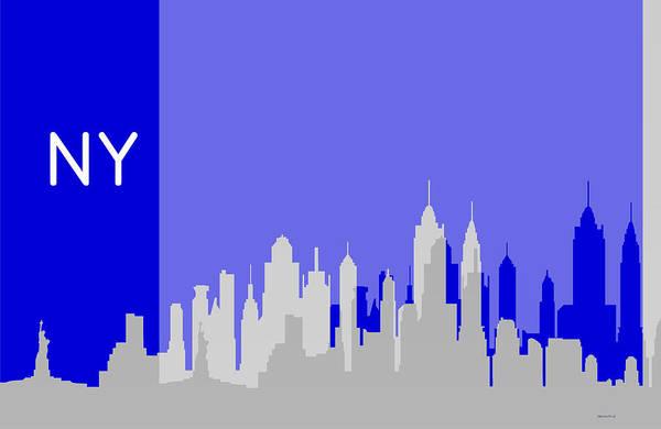 New York Shadows Poster