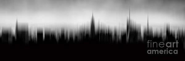 New York Skyline Abstract Poster