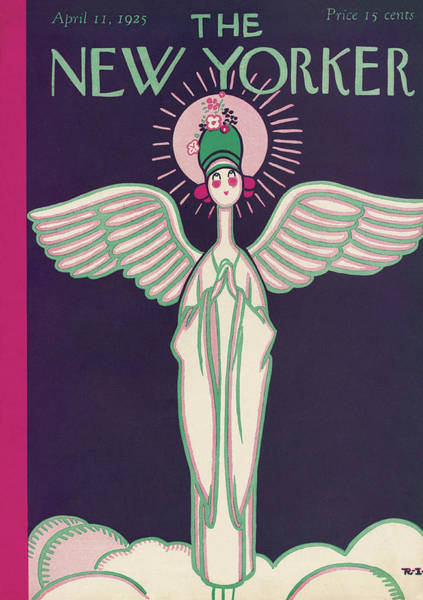 New Yorker April 11th, 1925 Poster