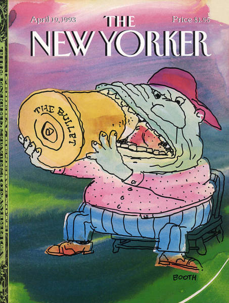 New Yorker April 19th, 1993 Poster