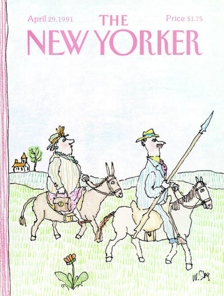New Yorker April 29th, 1991 Poster
