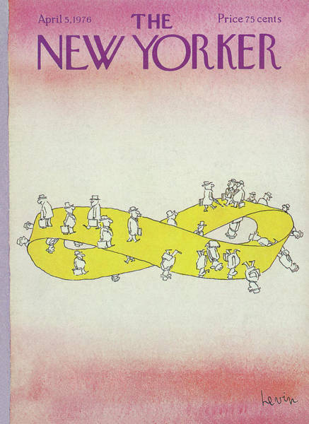 New Yorker April 5th, 1976 Poster