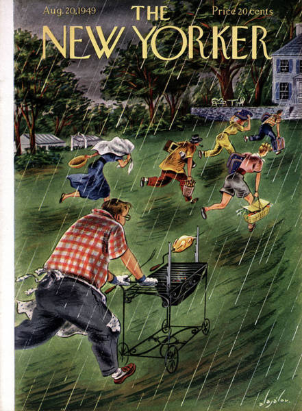 New Yorker August 20th, 1949 Poster