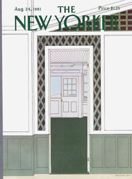 New Yorker August 24th, 1981 Poster