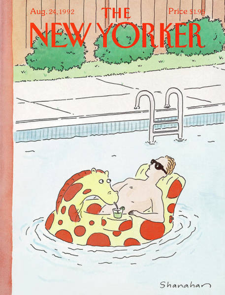 New Yorker August 24th, 1992 Poster