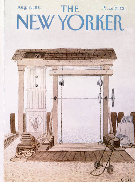New Yorker August 3rd, 1981 Poster