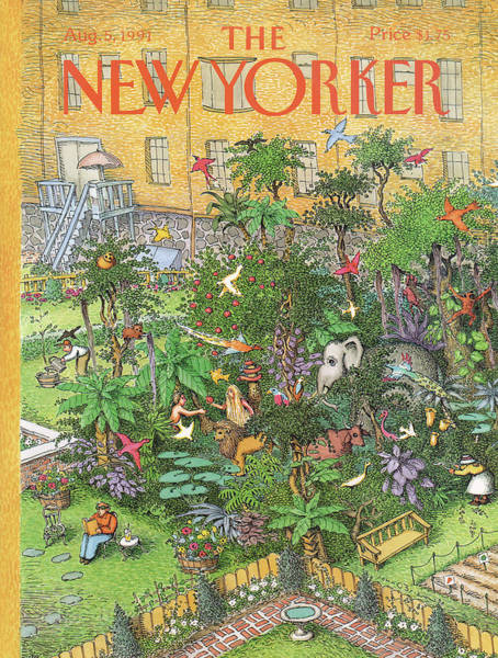 New Yorker August 5th, 1991 Poster