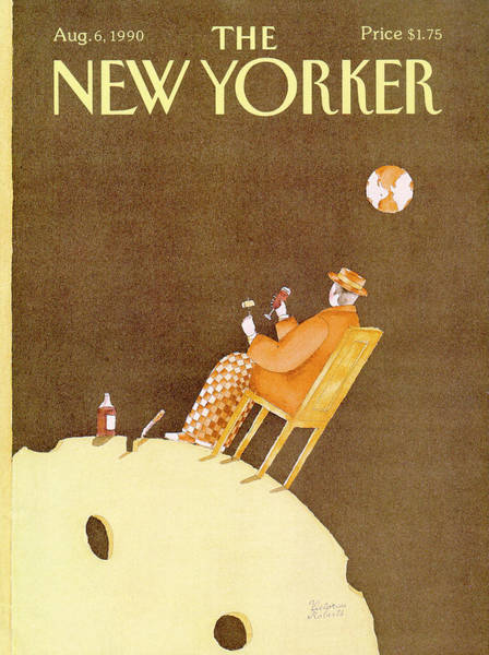 New Yorker August 6th, 1990 Poster