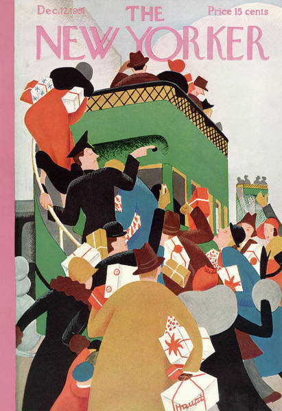 New Yorker December 12th, 1931 Poster