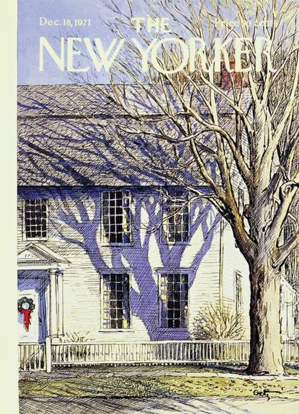 New Yorker December 18th 1971 Poster