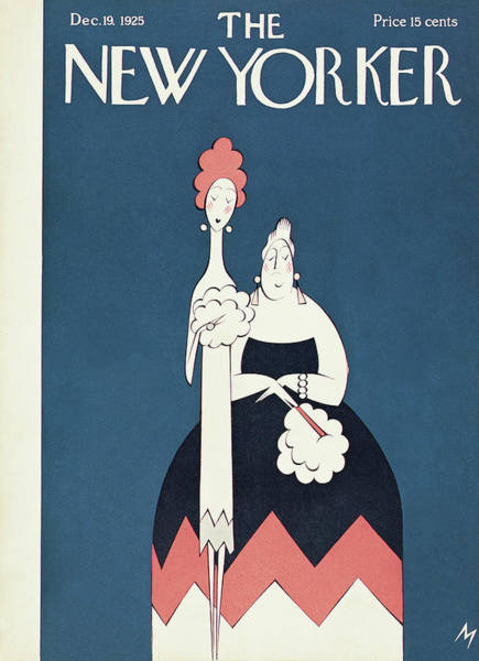 New Yorker December 19th, 1925 Poster