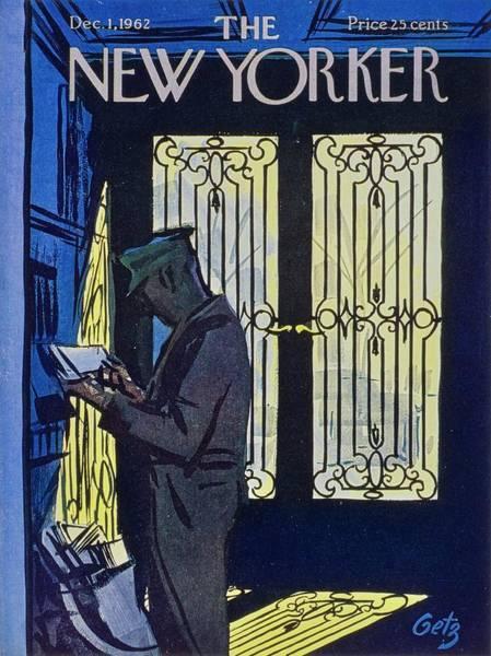 New Yorker December 1st 1962 Poster