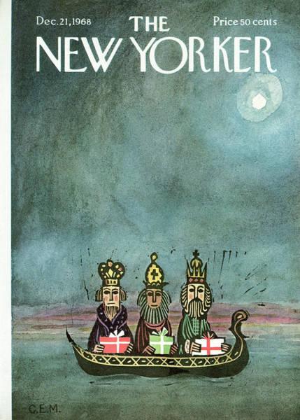 New Yorker December 21st, 1968 Poster