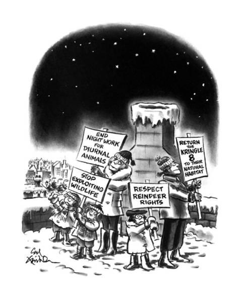 New Yorker December 23rd, 1991 Poster