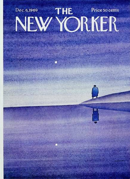 New Yorker December 6th 1969 Poster