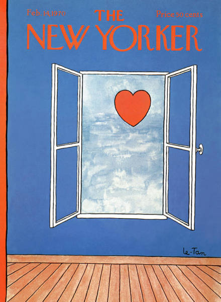 New Yorker February 14th, 1970 Poster