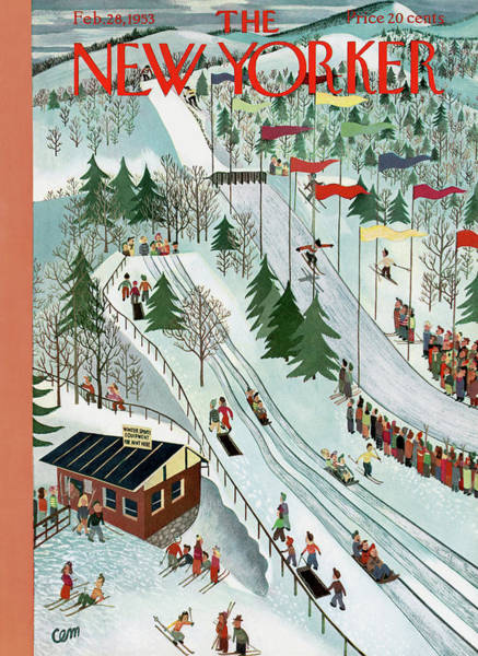 New Yorker February 28th, 1953 Poster