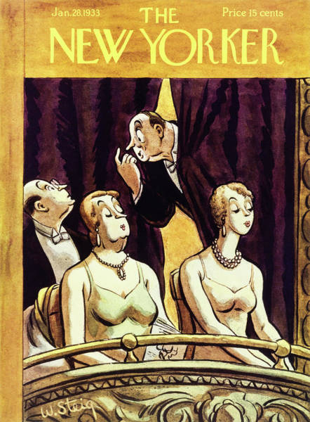 New Yorker January 28 1933 Poster