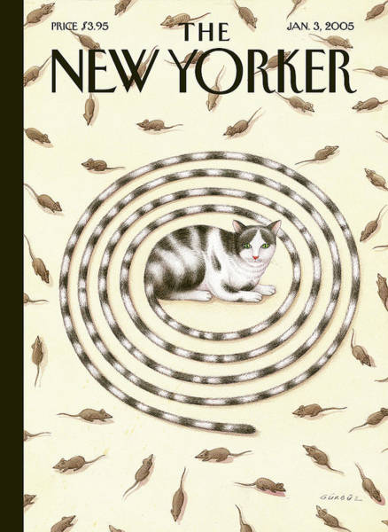 New Yorker January 3rd, 2005 Poster