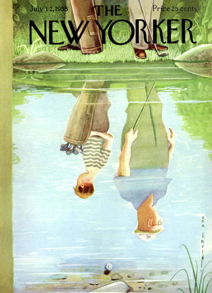 New Yorker July 12th, 1958 Poster