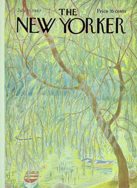 New Yorker July 15th 1967 Poster