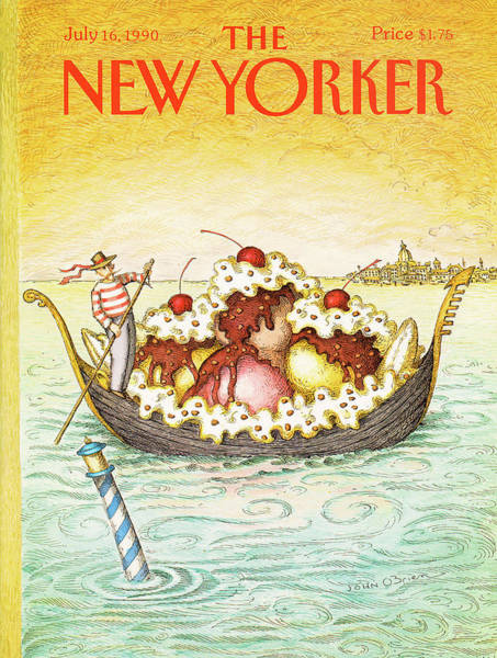New Yorker July 16th, 1990 Poster