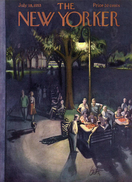 New Yorker July 18th, 1953 Poster