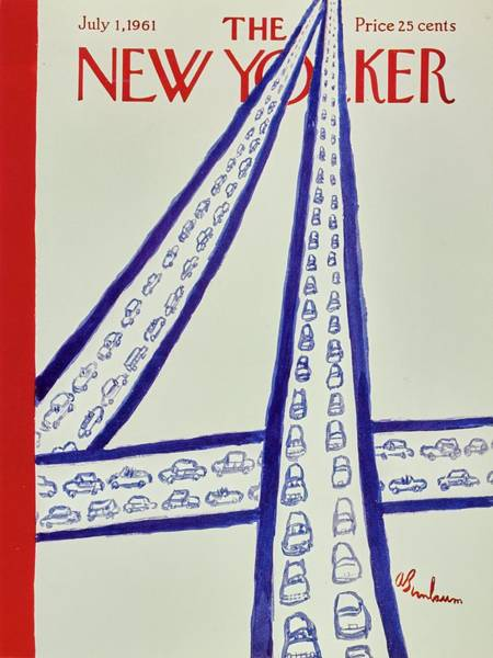 New Yorker July 1st 1961 Poster