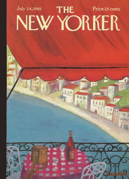 New Yorker July 24th, 1965 Poster