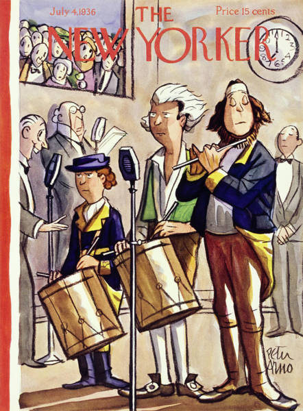 New Yorker July 4 1936 Poster