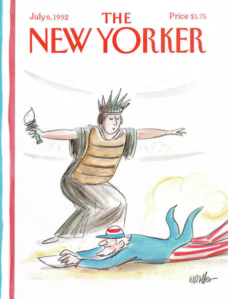 New Yorker July 6th, 1992 Poster