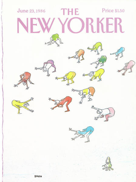 New Yorker June 23rd, 1986 Poster