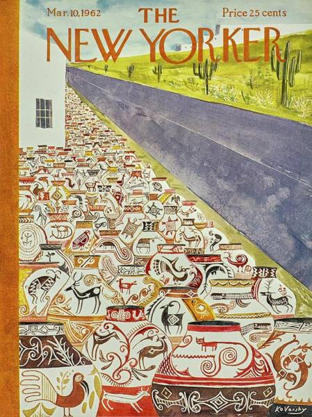 New Yorker March 10th 1962 Poster