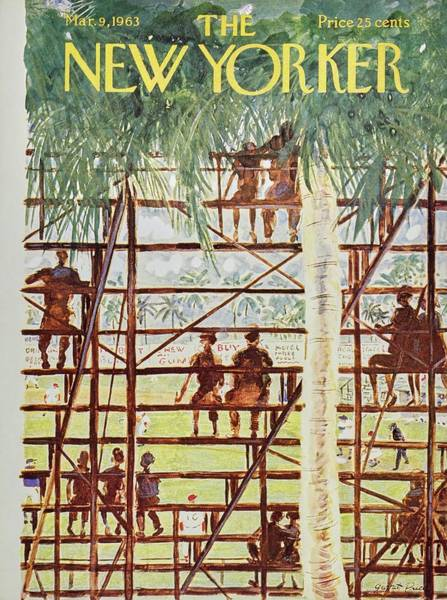 New Yorker March 9th 1963 Poster