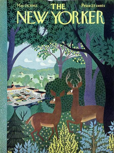 New Yorker May 26th 1962 Poster