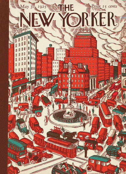 New Yorker May 30th, 1925 Poster