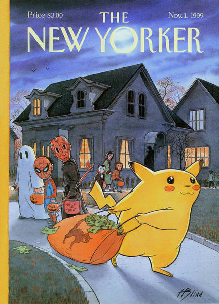 New Yorker November 1st, 1999 Poster