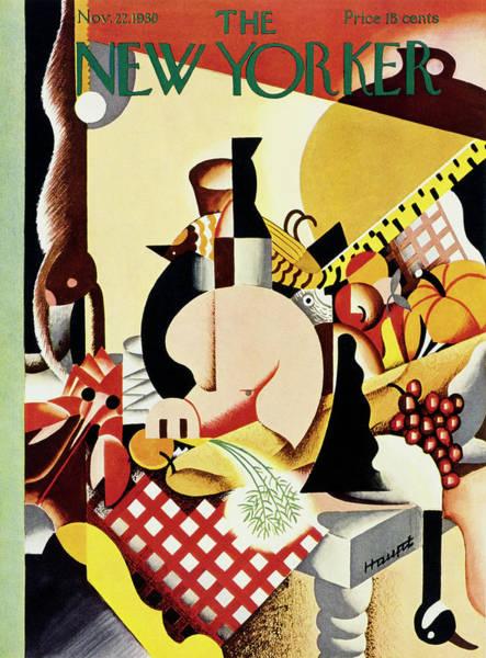 New Yorker November 22 1930 Poster