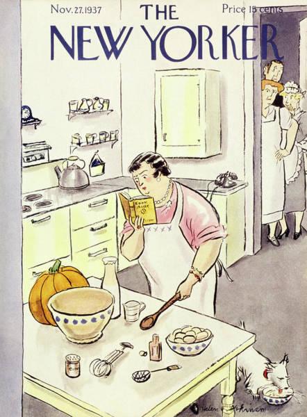 New Yorker November 27 1937 Poster