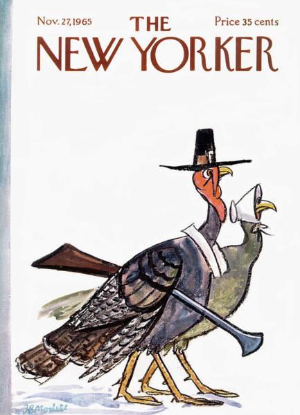 New Yorker November 27th, 1965 Poster