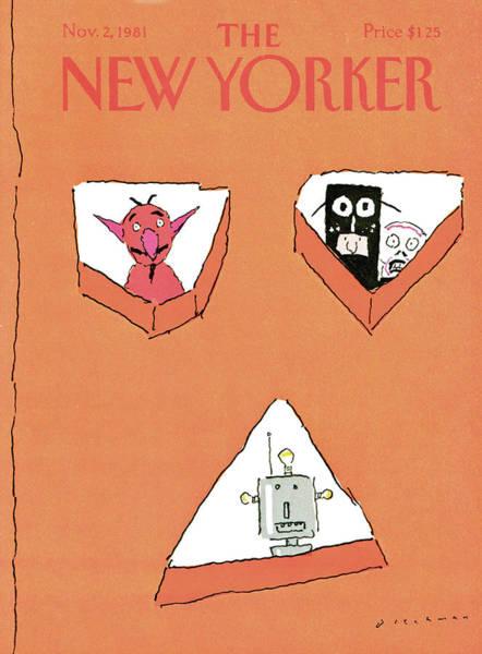 New Yorker November 2nd, 1981 Poster