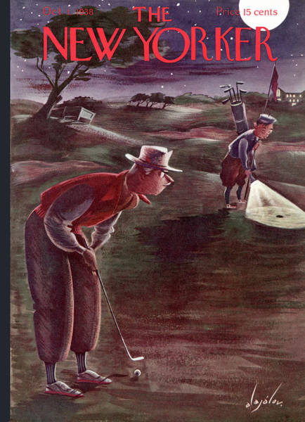 New Yorker October 1st, 1938 Poster
