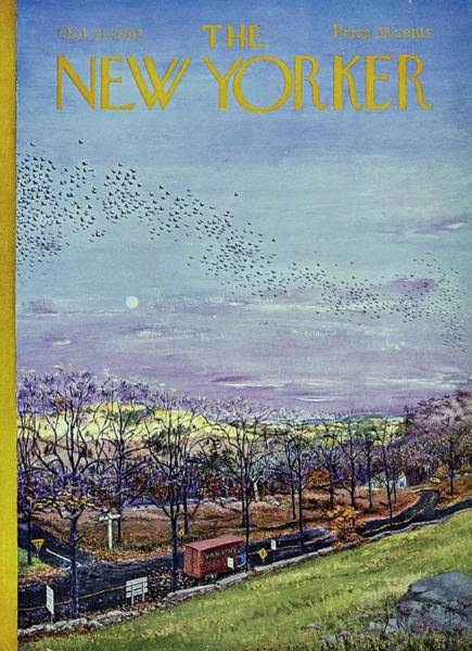 New Yorker October 21st 1967 Poster