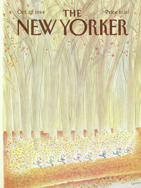 New Yorker October 22nd, 1984 Poster